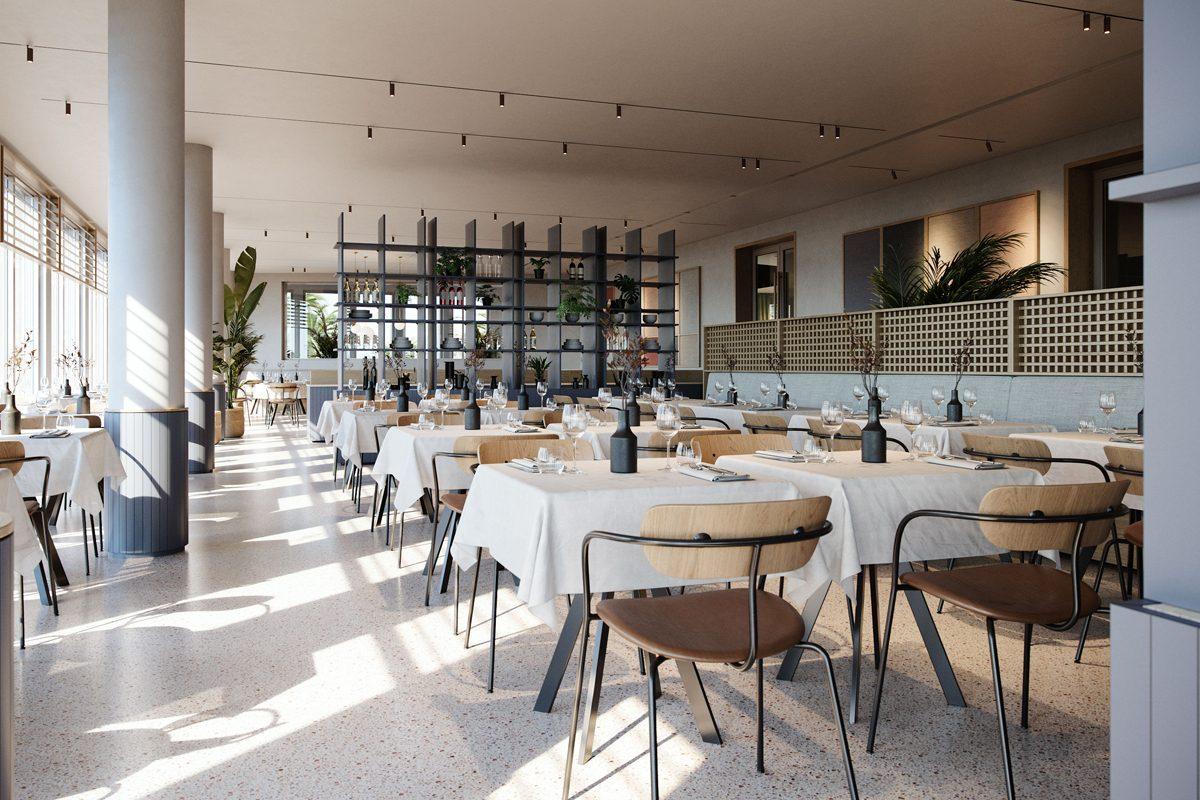 210119_ArnoldWernerArchitekten_Projekt_HotelMediterraneeAdriakueste_Restaurant