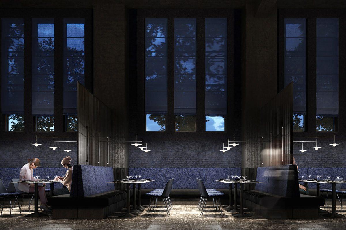 210414_ArnoldWernerArchitekten_Projekt_BergsonKunstkraftwerk_GrauwaldRendering_Restaurant